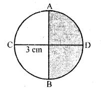 RD Sharma Class 10 Solutions Chapter 13 Areas Related to Circles Ex 13.2 - 22