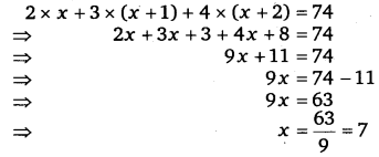 NCERT Solutions for Class 8 Maths Chapter 2 Linear Equations In One Variable 23