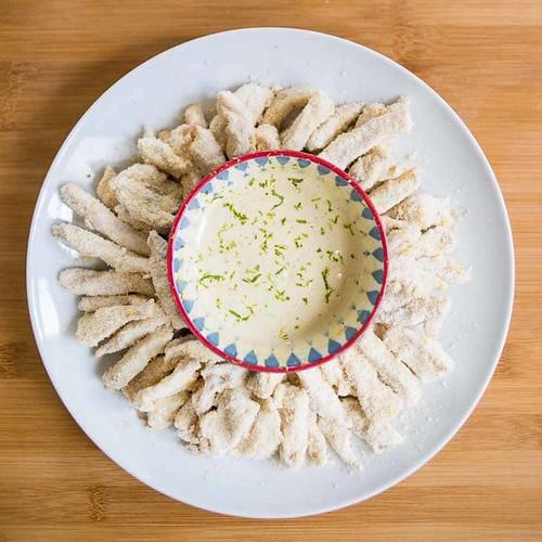 Keto Coconut Lime Chicken Fingers Recipe