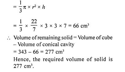 RD Sharma Class 10 Solutions Chapter 14 Surface Areas and Volumes  RV 74a