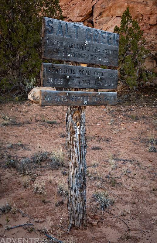 Salt Creek Sign