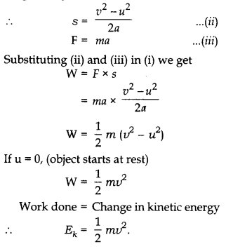 RBSE Solutions for Class 10 Science Chapter 11 Work, Energy and Power AS 9