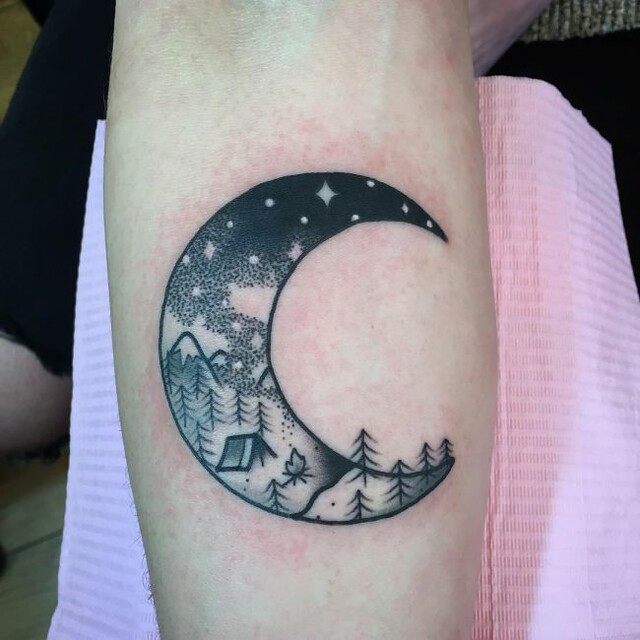 Los Tatuajes De Luna Más Sorprendetes Y Originales Mini Tatuajes