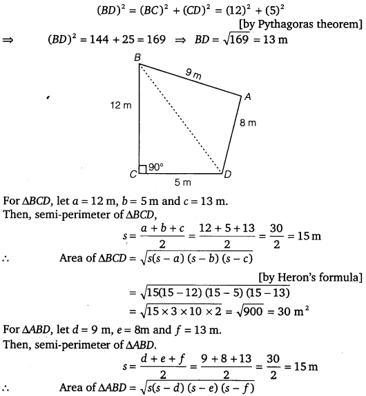 NCERT Solutions for Class 9 Maths Chapter 12 Heron's Formula 9