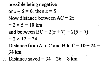 ML Aggarwal Class 9 Solutions for ICSE Maths Chapter 12 Pythagoras Theorem     7a