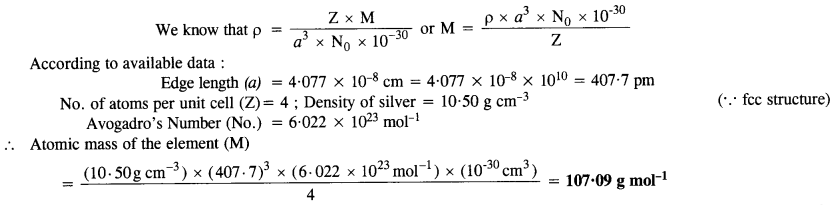 tiwari academy class 12 chemistry Chapter 1 The Solid State 16
