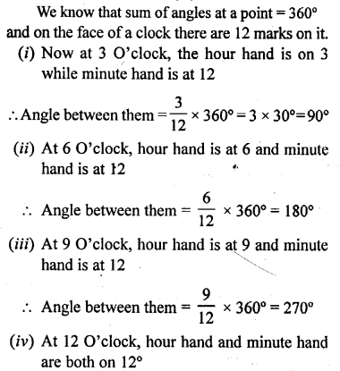 Selina Concise Mathematics Class 6 ICSE Solutions - Angles (With their Types) -r10