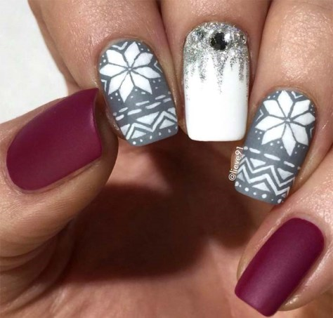 nail art designs to try this christmas 2019 • stylish f9