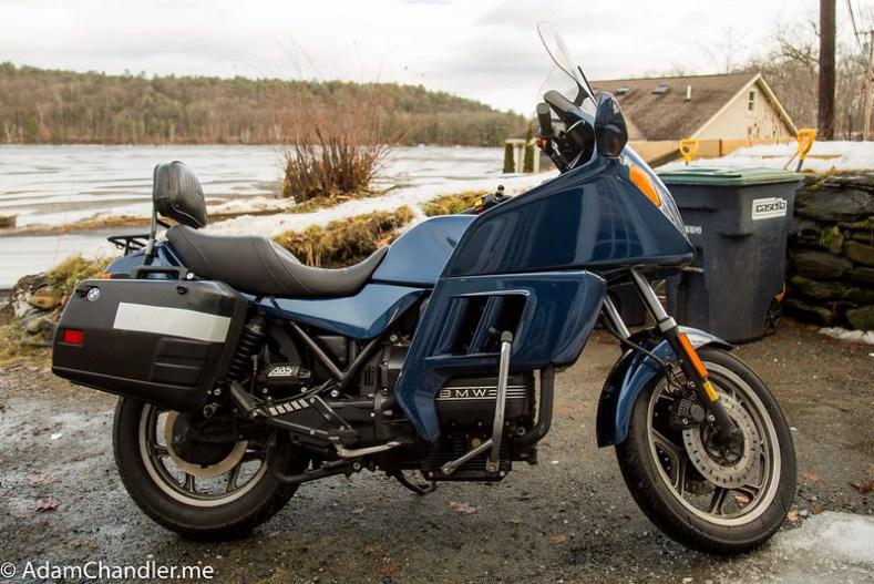 1995 BMW K75 RT Metallic Blue