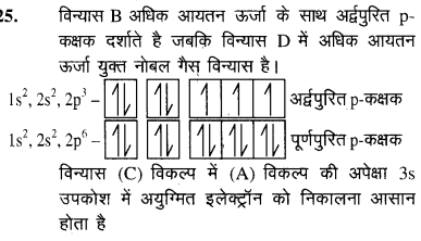 NEET Chemistry Chapter Wise Previous Year Question Papers परमाणु संरचना key25