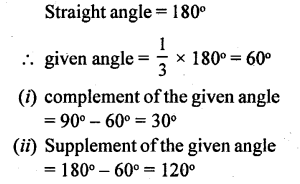 Selina Concise Mathematics Class 6 ICSE Solutions - Angles (With their Types) -r15