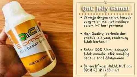 QnC Jelly Gamat Obat Herbal Asam Urat Ampuh