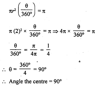 RD Sharma Class 10 Solutions Chapter 13 Areas Related to Circles Ex 13.2 - 8a