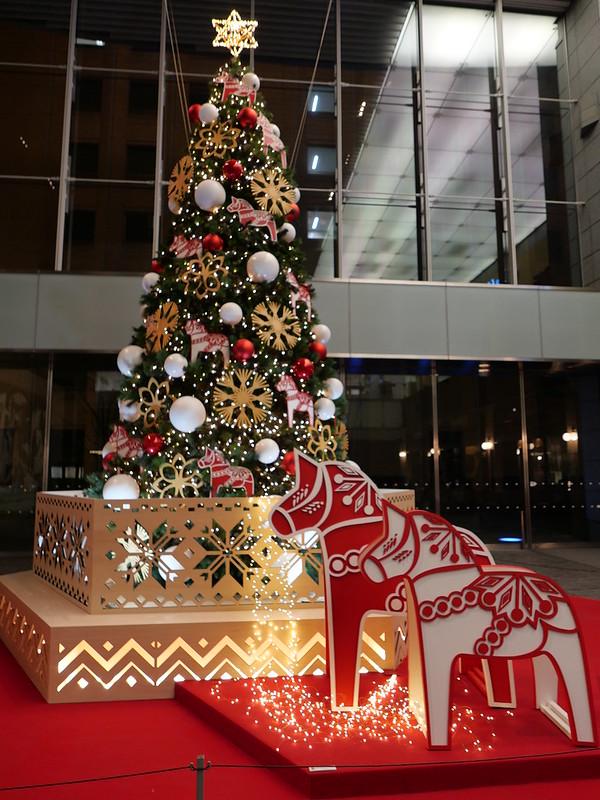 iA mode lucky horse tree at Marunouchi OaZO