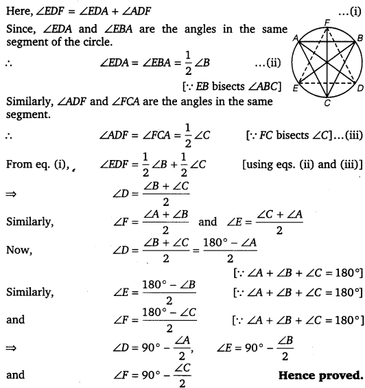 NCERT Solutions for Class 9 Maths Chapter 10 Circles 53