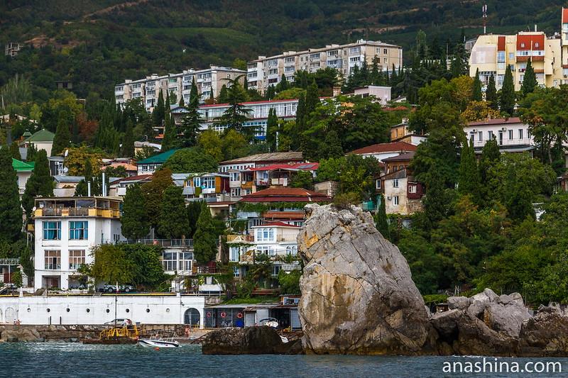 Панорама Гурзуфа, Крым