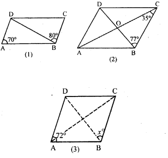 ML Aggarwal Class 9 Solutions for ICSE Maths Chapter 13 Rectilinear Figures  ex 4