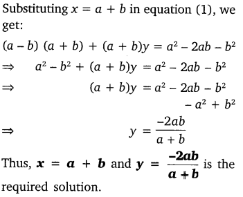 Chapter 3 Maths Class 10 Pair Of Linear Equations In Two Variables NCERT Solutions Ex 3.7 7g