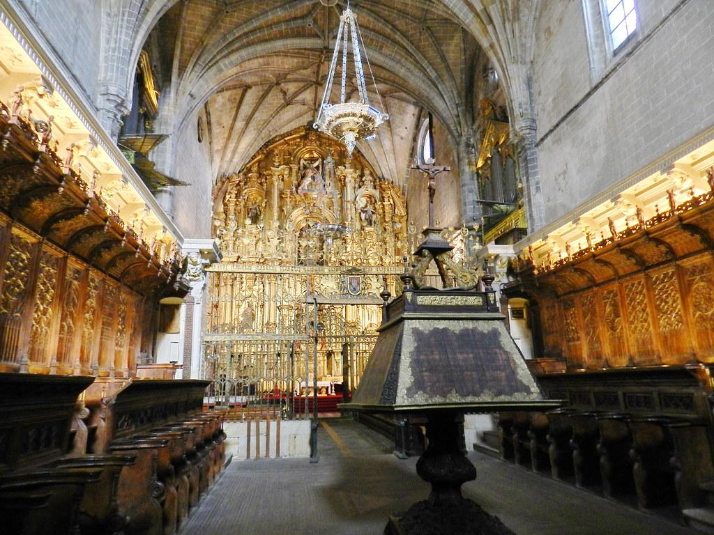 coro interior Catedral de Santa Maria de la Asuncion Coria Caceres 01