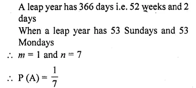 RD Sharma Class 10 Solutions Chapter 16 Probability Ex 16.1 52