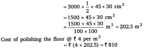 NCERT Solutions for Class 8 Maths Chapter 11 Mensuration Ex