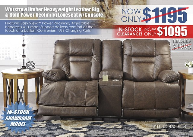 Wurstrow Umber Heavy Weight Leather Loveseat_OTW_U54603-15-18-T433-PILLOW_Clearance