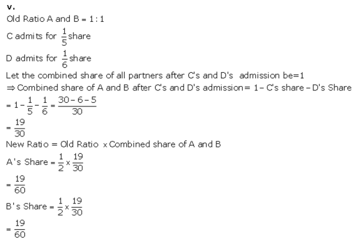 TS Grewal Accountancy Class 12 Solutions Chapter 4 Admission of a Partner Q9.4