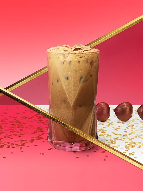 Starbucks_Iced Chestnut Black Tea Latte