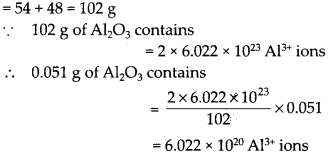 NCERT Solutions for Class 9 Science Chapter 3 Atoms and Molecules 25