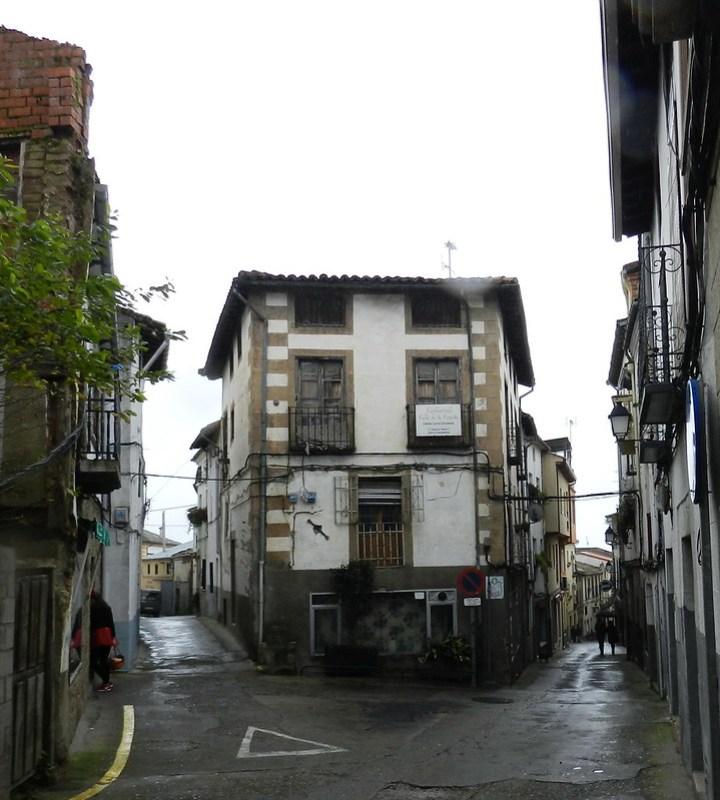 calle y casas Jarandilla de la Vera Caceres 02