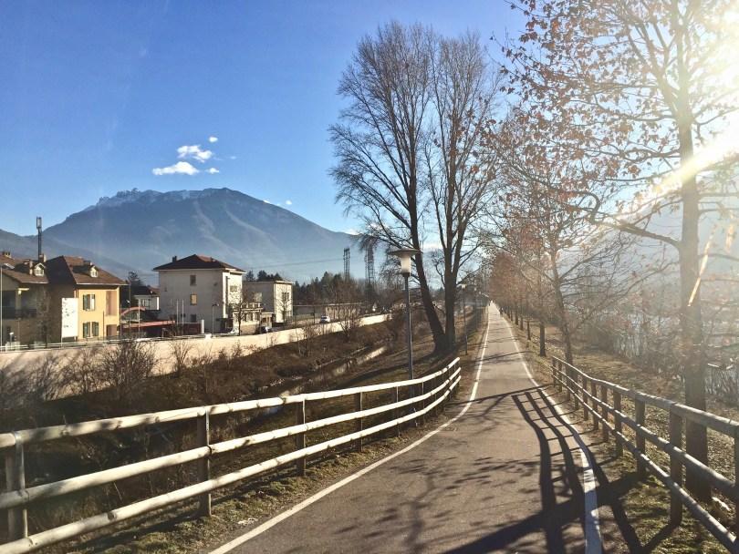 Itinerario di Trento - Lungadige