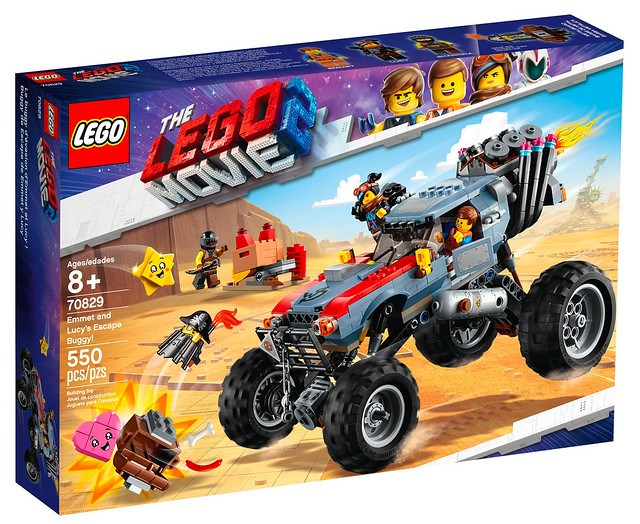 LEGO Movie 2 70829 Emmet and Lucy's Escape Buggy 01