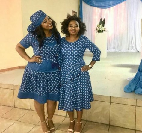 Shweshwe Traditional Dresses Designs 2019
