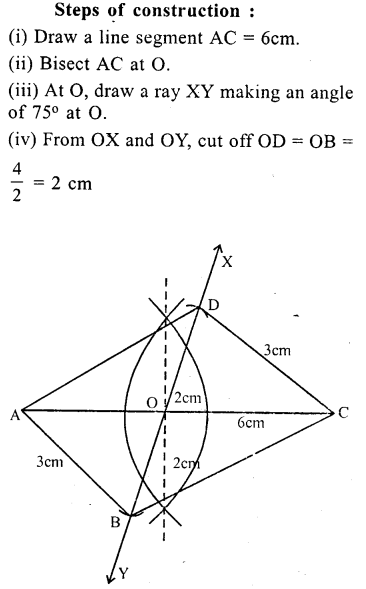 ML Aggarwal Class 9 Solutions for ICSE Maths Chapter 13 Rectilinear Figures  ex 2  12