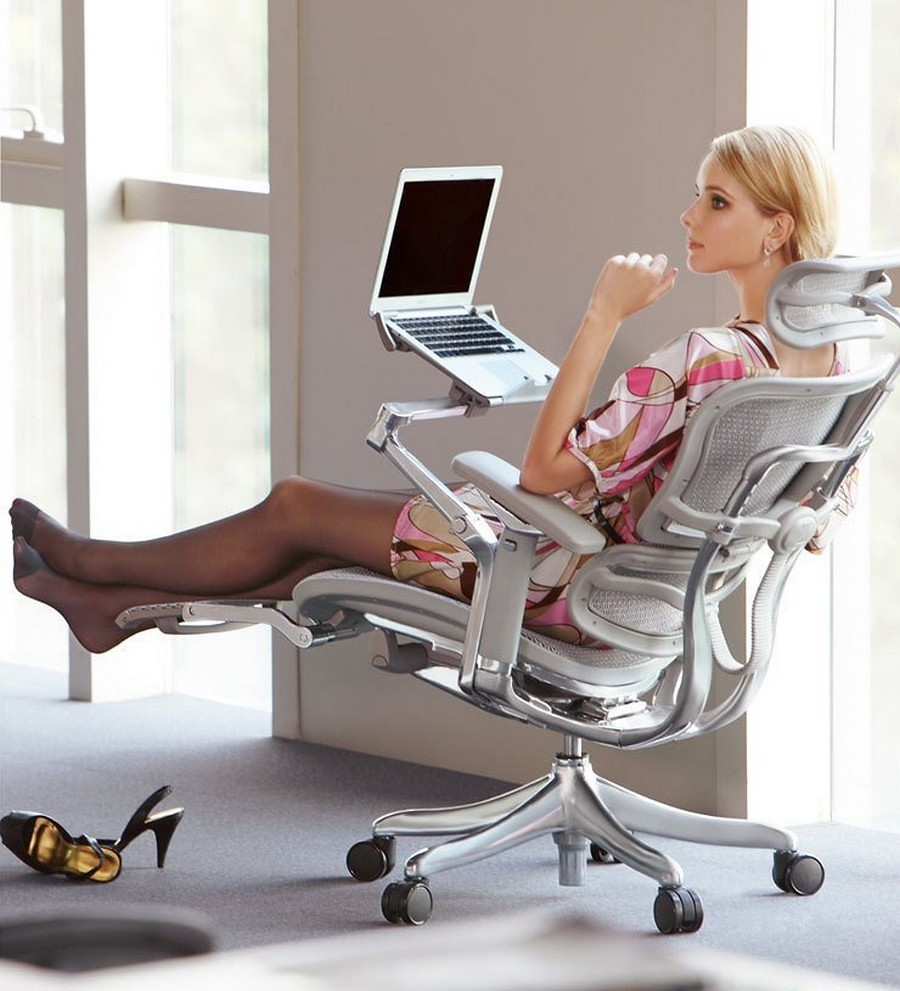 ergonomic chair with leg rest white faux leather 10 reasons why you need a reclining office re image 3