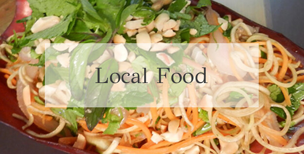 Pu lung local food