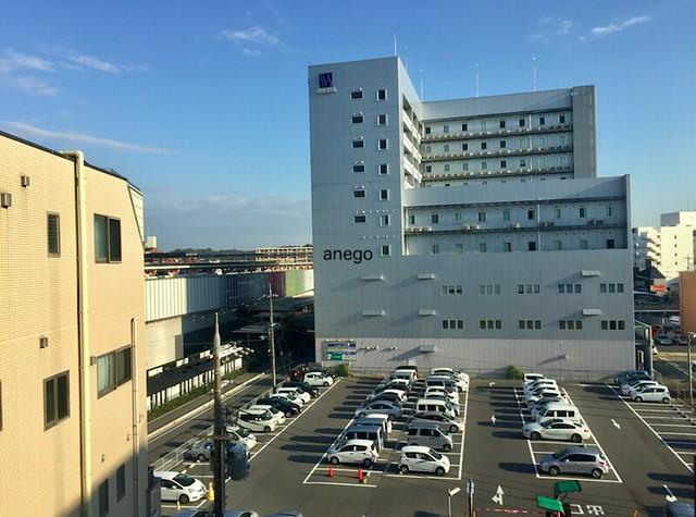 ABホテル 奈良 窓の外