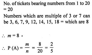 RD Sharma Class 10 Solutions Chapter 16 Probability Ex 16.1 13