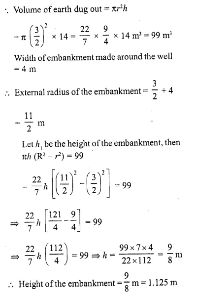 RD Sharma Class 10 Solutions Chapter 14 Surface Areas and Volumes  RV 10a