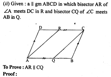 ML Aggarwal Class 9 Solutions for ICSE Maths Chapter 13 Rectilinear Figures  ex 11b