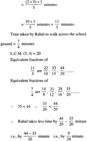 NCERT Solutions for Class 6 Maths Chapter 7 Fractions 0117
