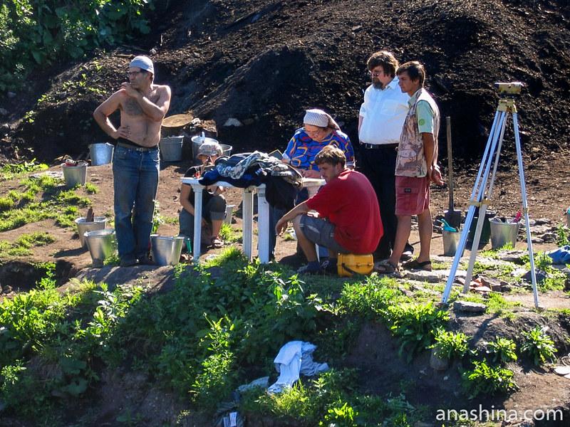 Археологи, Староладожская археологическая экспедиция
