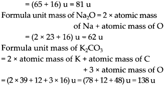 NCERT Solutions for Class 9 Science Chapter 3 Atoms and Molecules 7