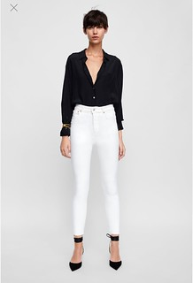 image1 jeans color blanco