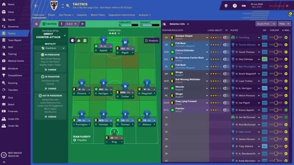 Football Manager 19 - Tactics
