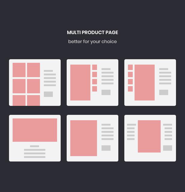 Multiple layout product page for Fashion Prestashop theme-Leotheme