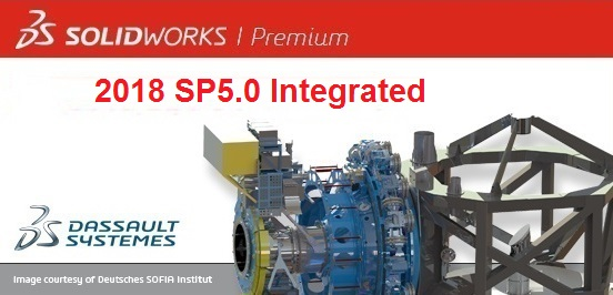 SolidWorks 2018 SP5.0 x64 full license