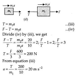 NCERT Solutions for Class 11 Physics Chapter 5 Law of Motion 15