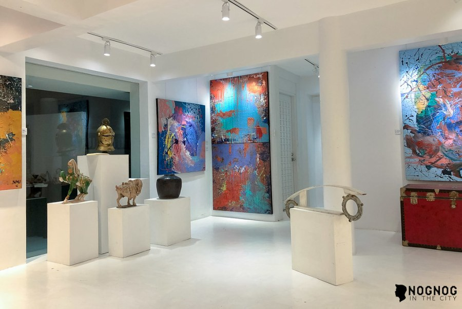 NMI ART GALLERY WITH ABSTRACT ARTIST NADINE IBAY (12 of 20)