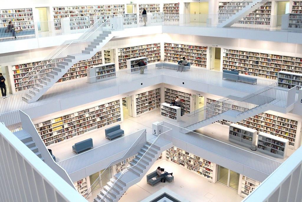 德國斯圖加特市立圖書館Stadtbibliothek Stuttgart (1)